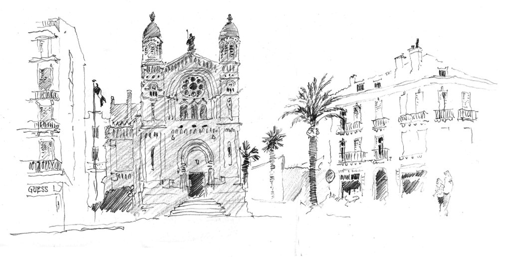 St Raphael, France. Sketchbook 83 [102]