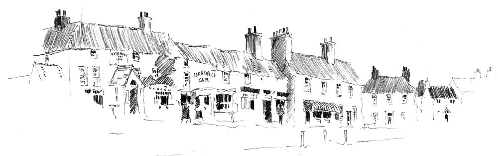 Wragby Market Place. Sketchbook 75 [67]
