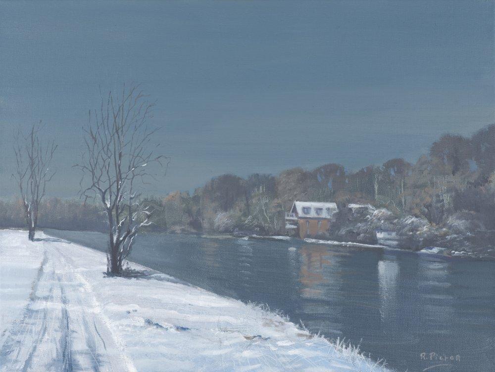 Caversham Promenade in Winter