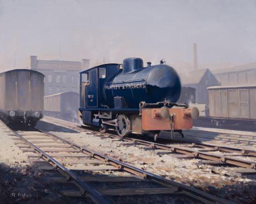 Huntley & Palmers Fireless Locomotive