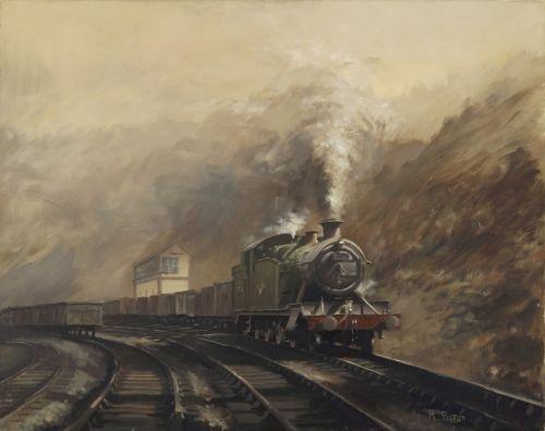 South Wales Coal Train