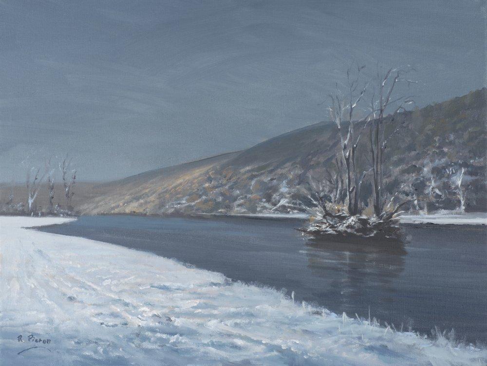 Thames at Mapledurham in Winter