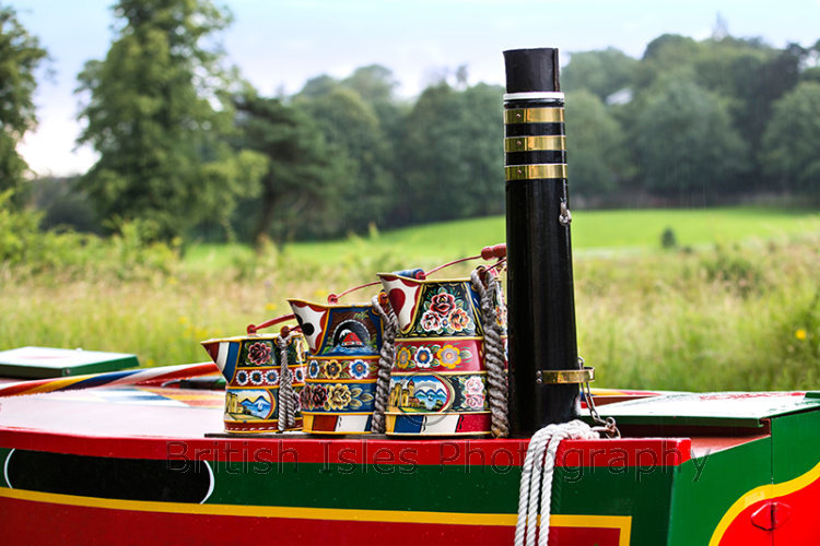 Buckby Can On Narrow Boat