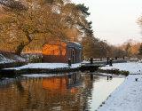 Winter Sun At Audlem Locks
