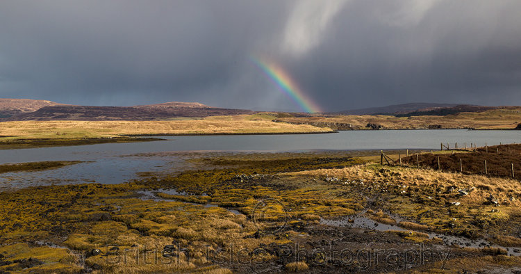 Rainbow On Isle of Skye