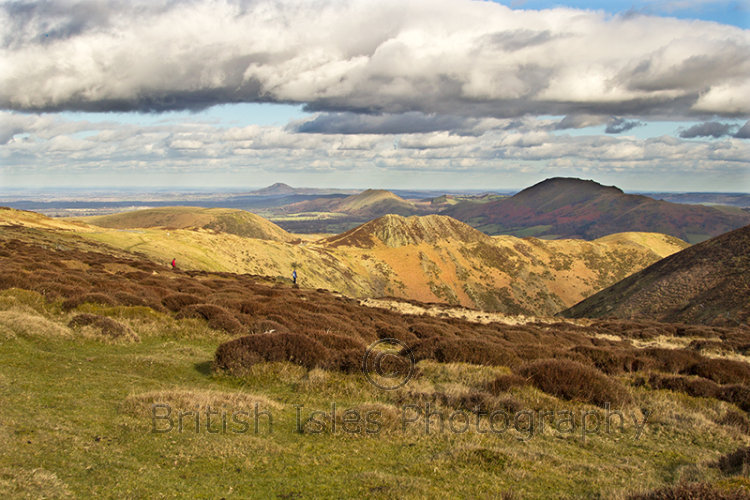 The Long Mynd In Shropshire