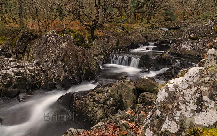 Rhaeadr Ddu Waterfall