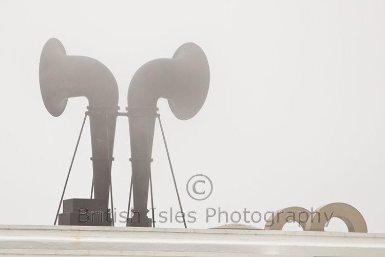 Fog Horn At Pendeen Lighthouse