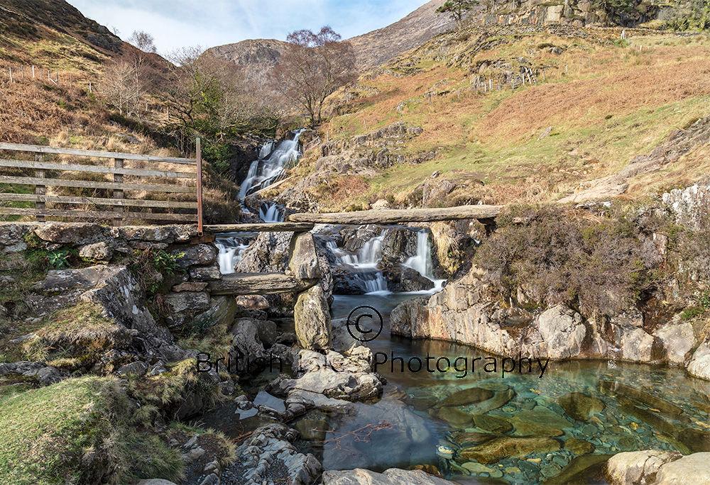 Cwm Llan Waterfall, Snowdonia