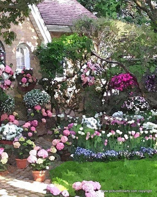 No 8. The Chapel Garden.