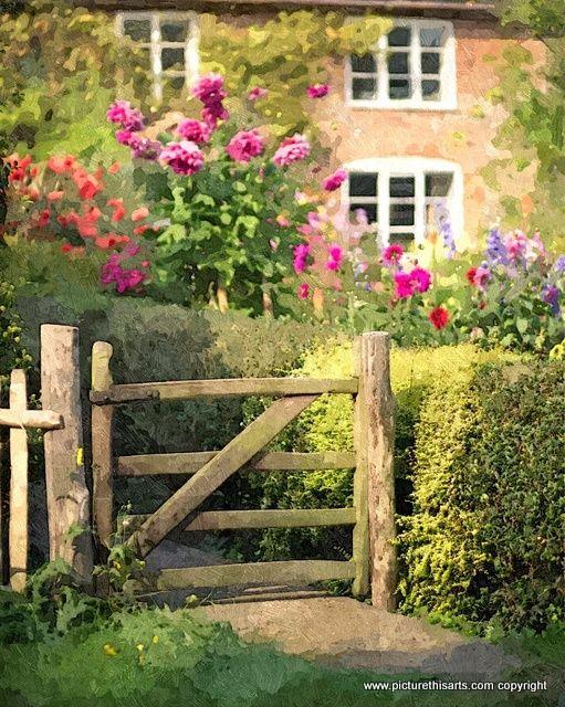 No 9. Wooden gateway.