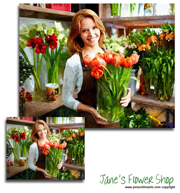 Jane's Flower Shop