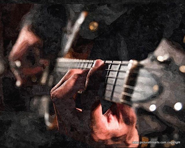 No 15 Guitar close up.