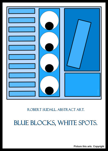 Blue blocks White Spots.