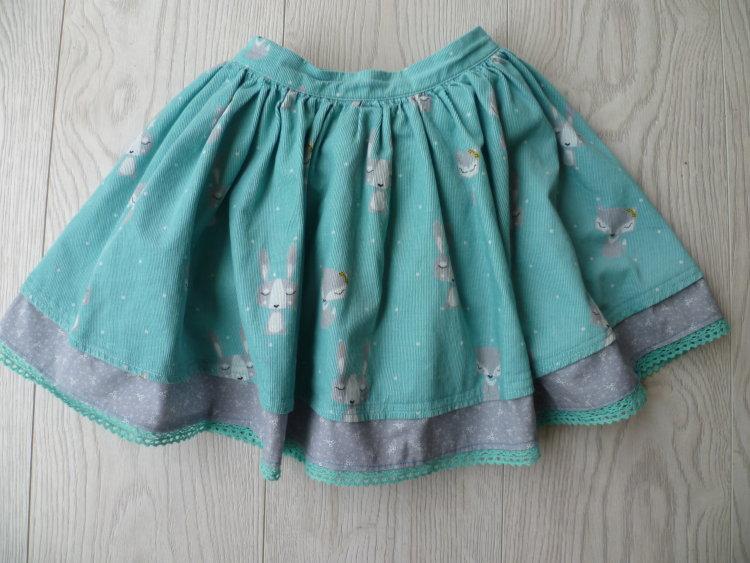 girls skirt - lengthen