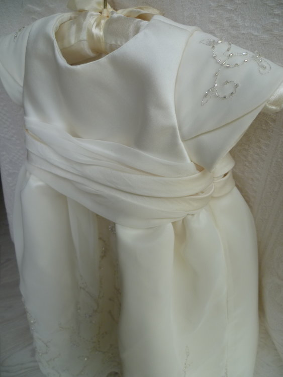 Christening Dress detail