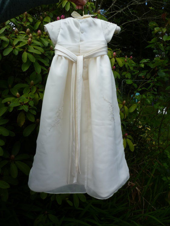 Christening Dress - back