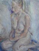 Seated nude.1.