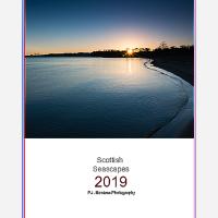 2019 Scottish Seascape Calendar Front Cover