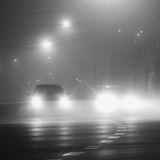 Foggy streets, Sydney