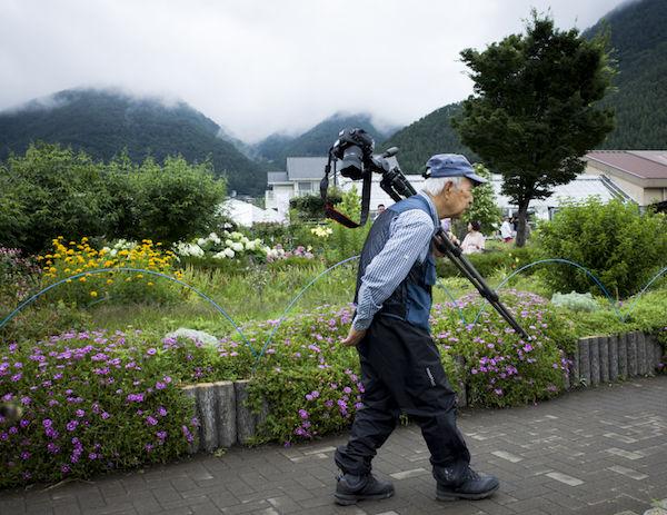 Travel photographer, Kawaguchiko