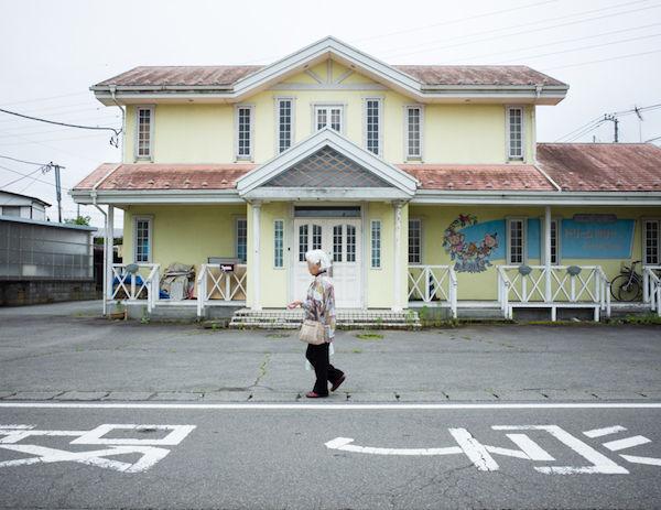 Elderly lady, Kawaguchiko