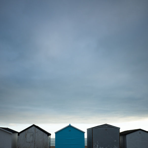 Beach huts, Sussex