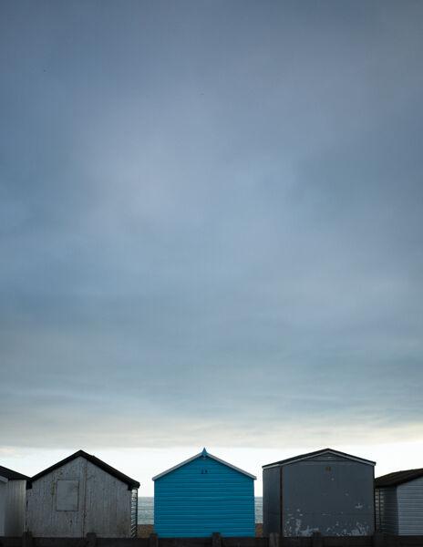 Beach huts, Sussex