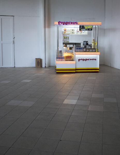 Snack stall, Manila