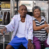 Proud grandparents, Manila