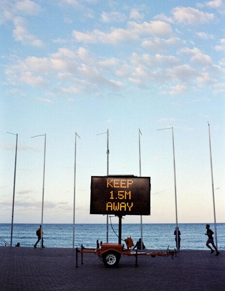 Covid warning, Sydney