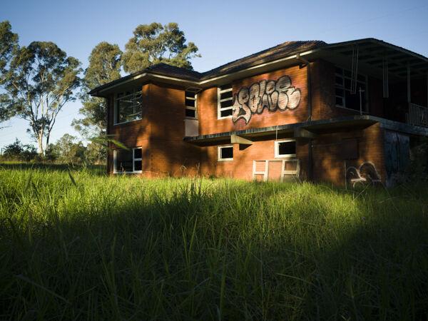 Derelict home, Riverstone, NSW