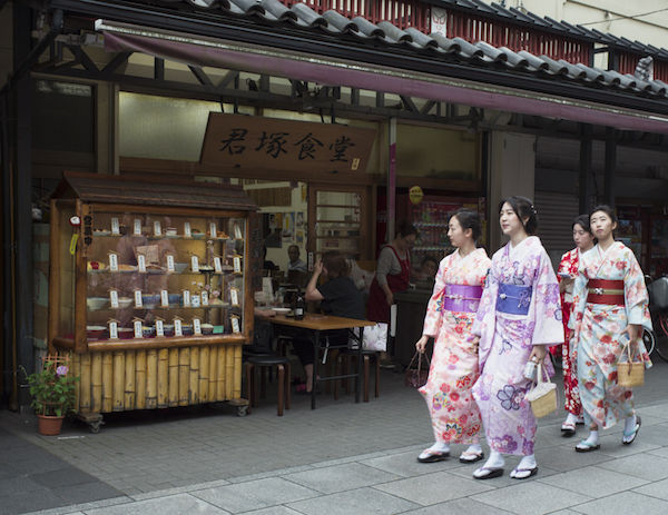 Kimonos, Asakusa