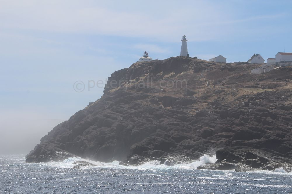 Cape Spear, Newfoundland, Canada. Most eastern point of North America.