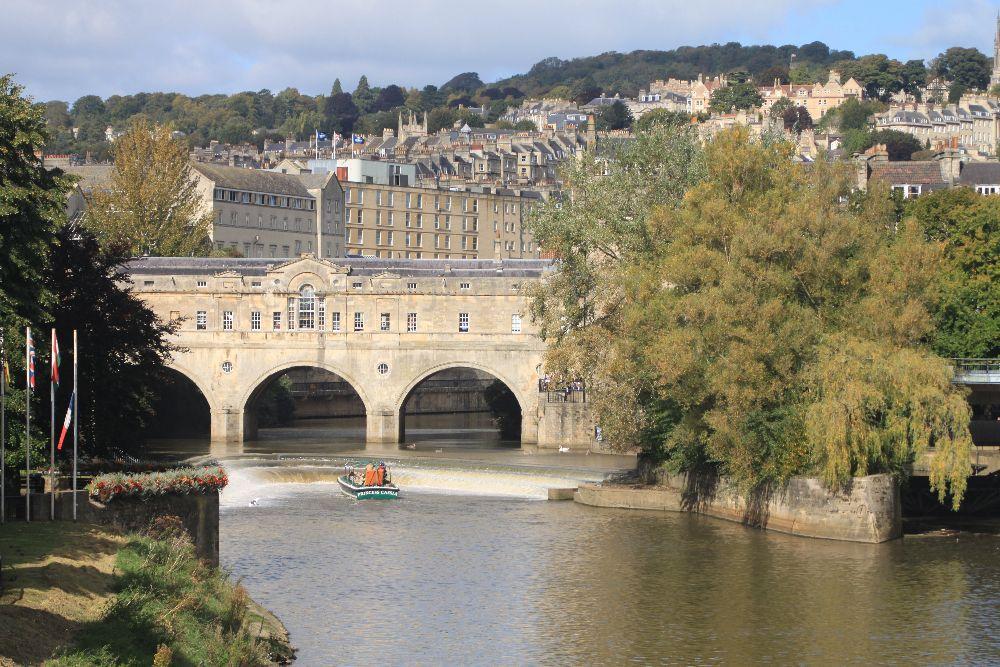 Pultney Bridge and Weir, Bath