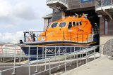 Shoreham Lifeboat is launched.