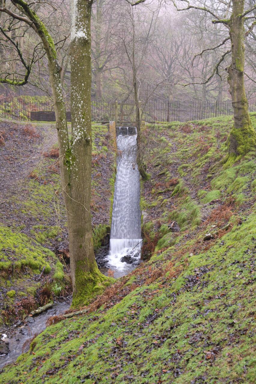 Waterfall nr. Church stretton Shropshire