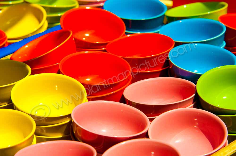 Crockery in all colours