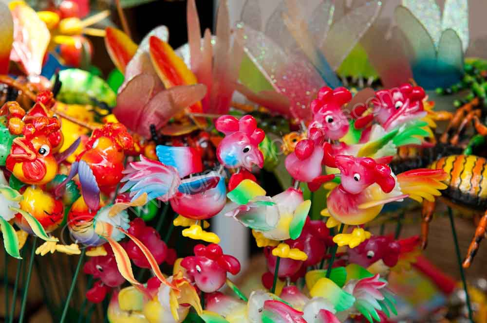 Small items  in Market stall
