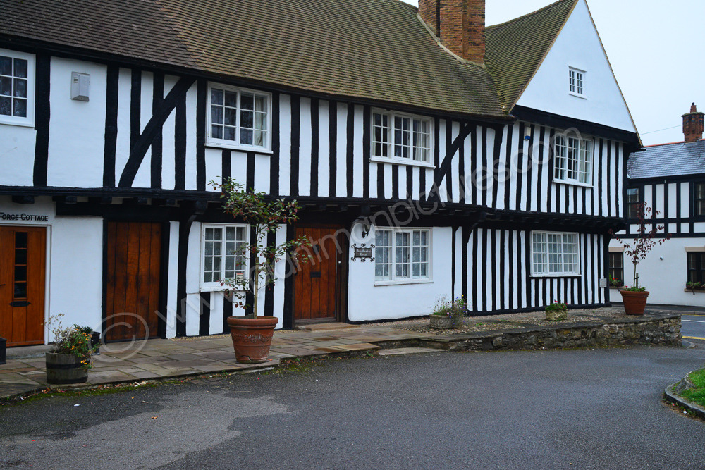 The Guy Fawkes House formally the Red Lion Inn now a private dwelling