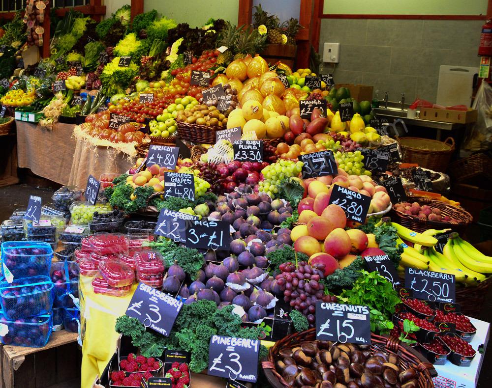 Fruit Stall at the Borough Market