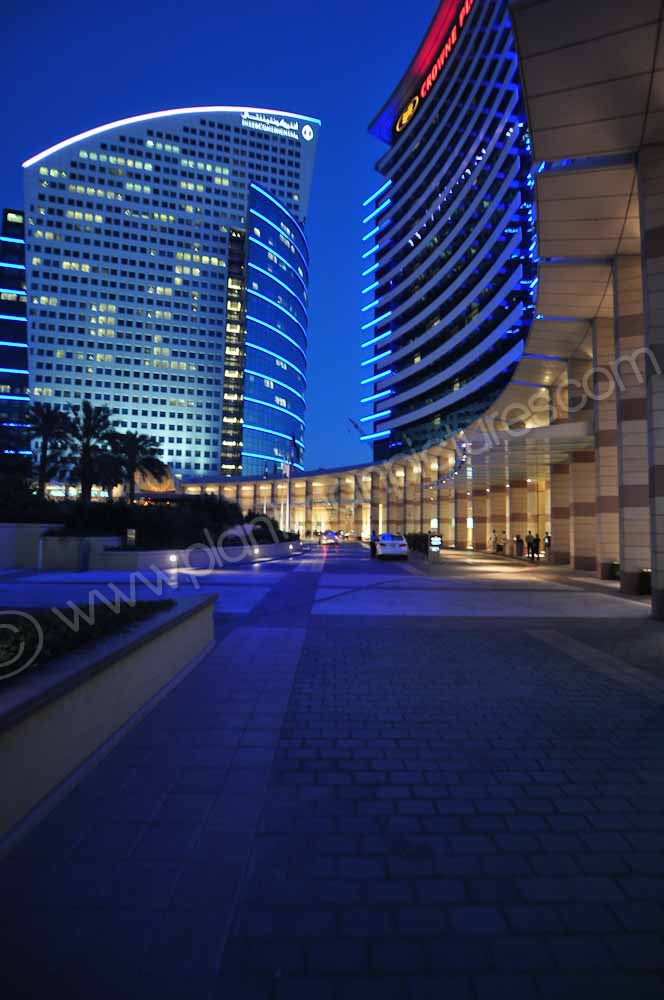 The Intercontinental and Crowne Plaza Hotels