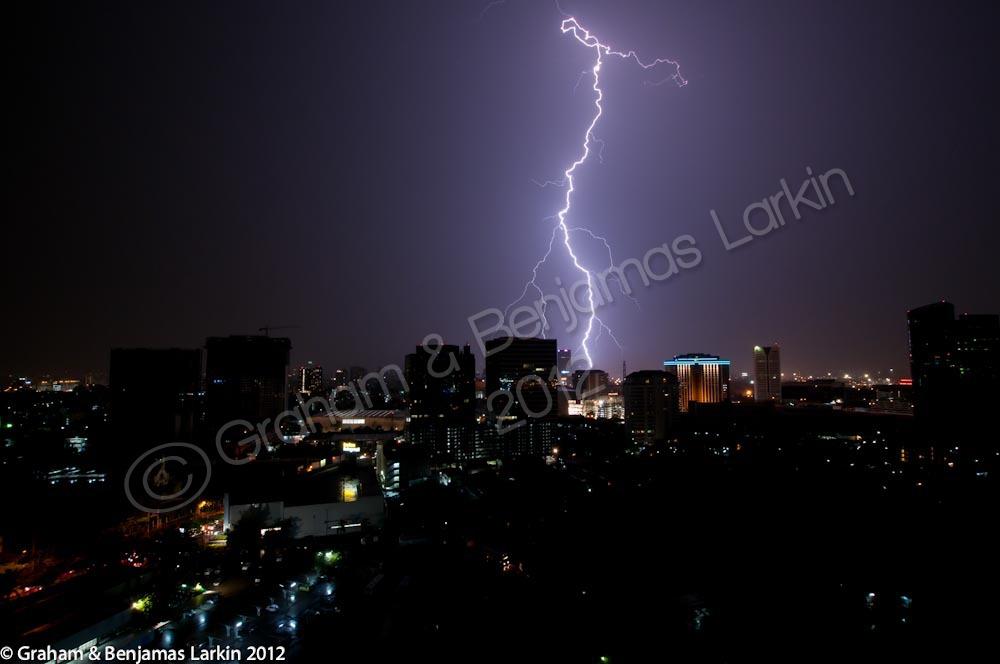 Lightning Strike  Bangkok