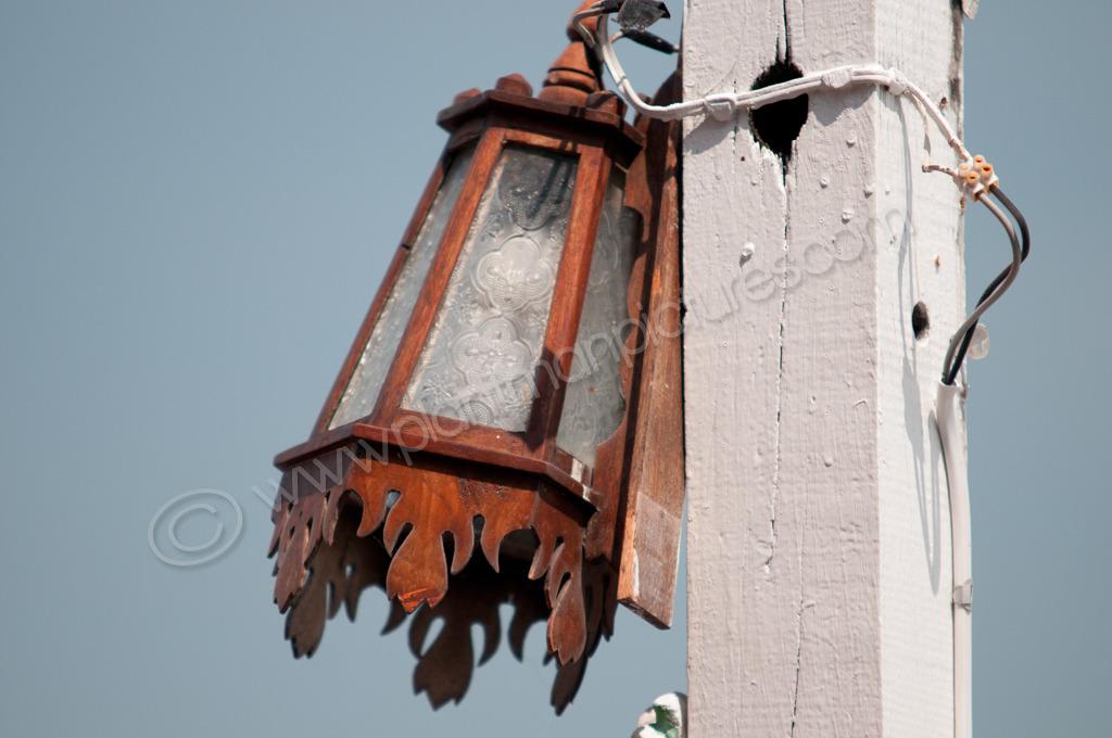 Lamp  by the sea Hua Hin