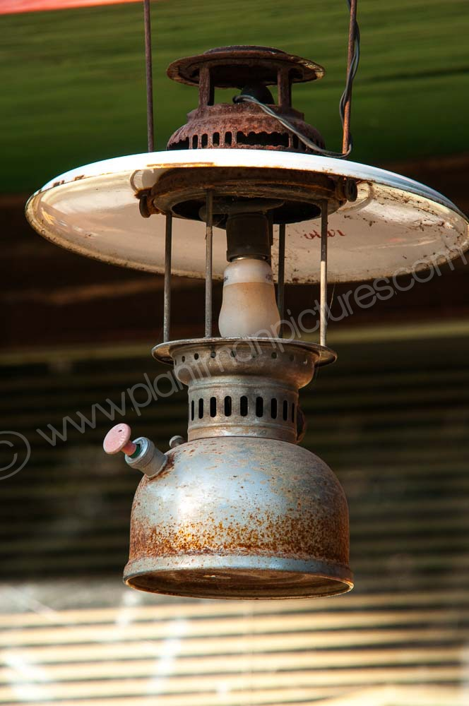 Old Lamp Route 12 Thailand