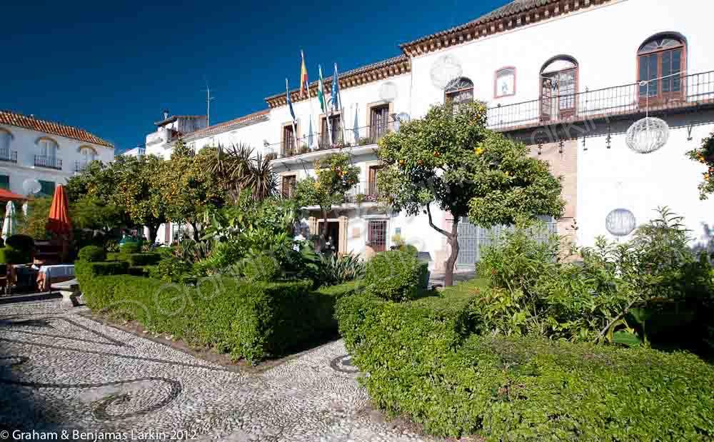 Orange Square  Old Town Marbella