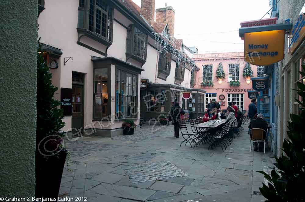 Shops in oxford