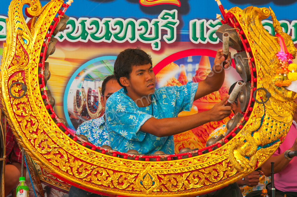 Musician and Traditional Thai Instrument