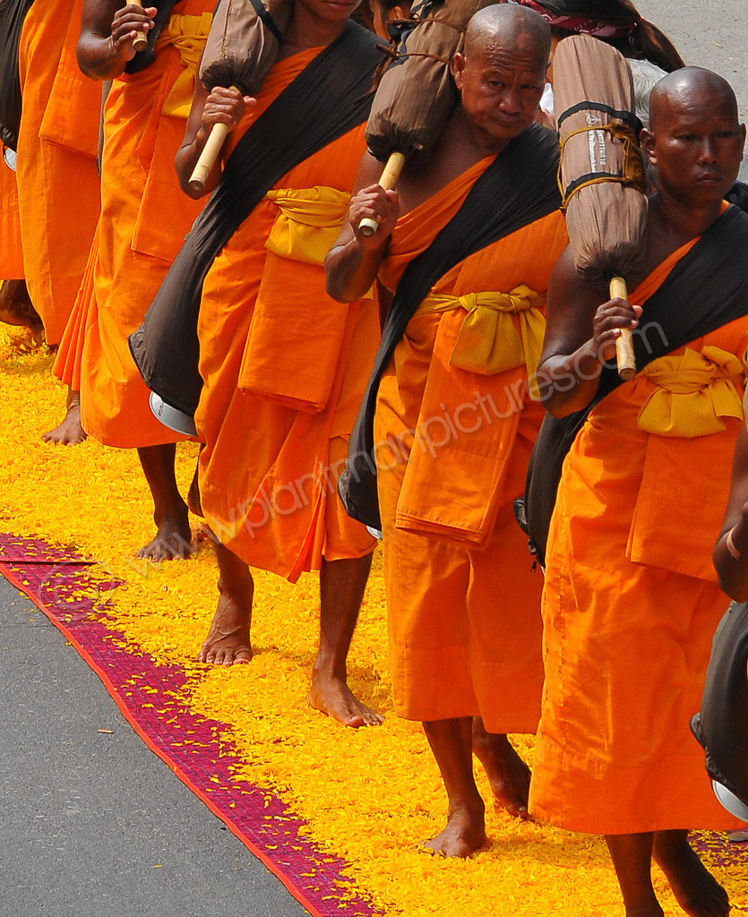 Marching Monks