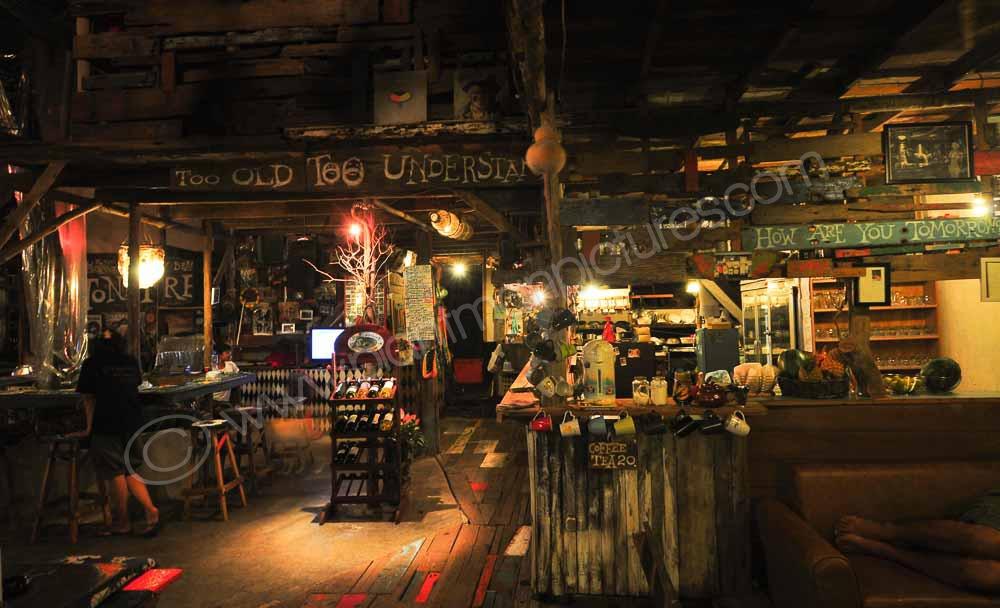 The Bar at the Stone Free Blues bar